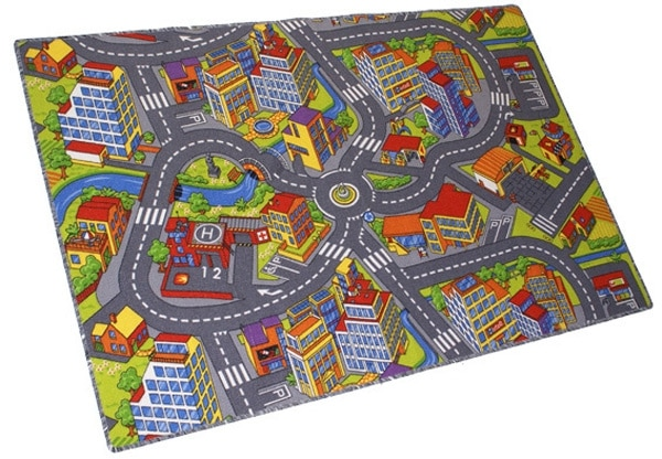 Dětský koberec silnice SMART 133x165 cm