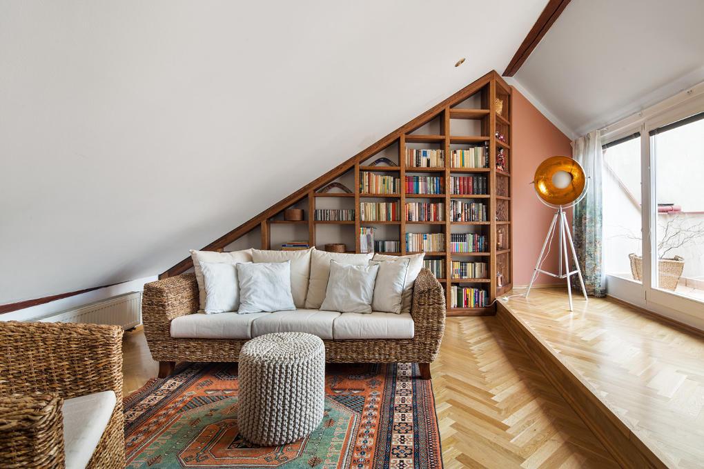 Nábytek na míru - realizace bytu ve Vršovicích od KP Interiors