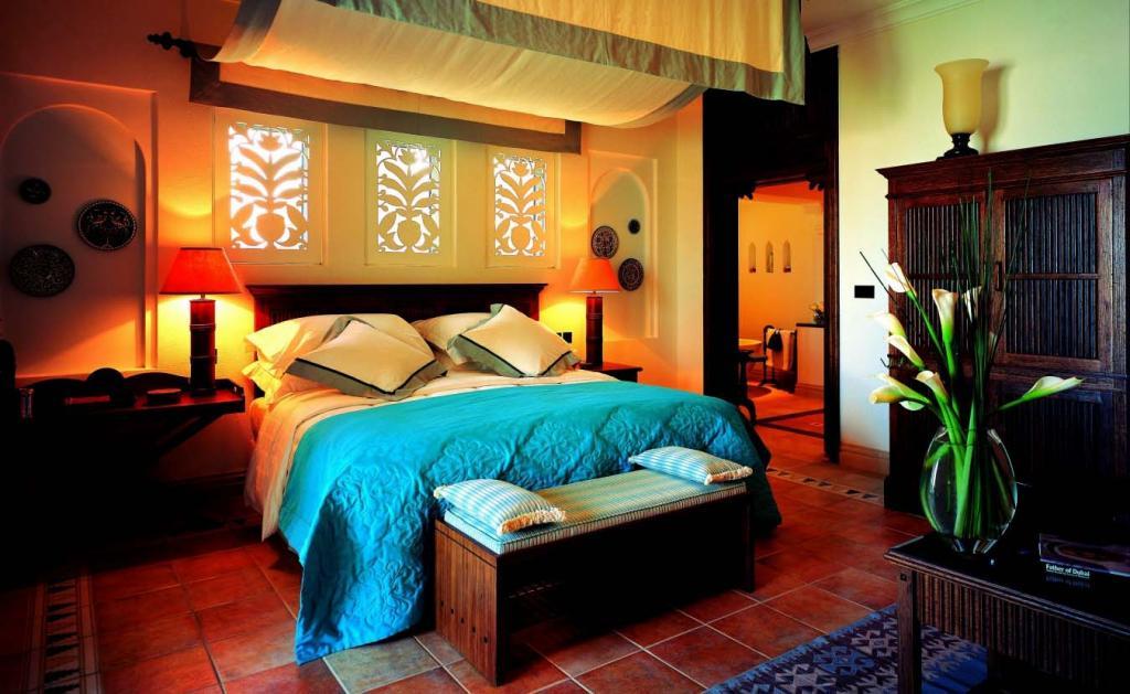 Ložnice v mexickém stylu
