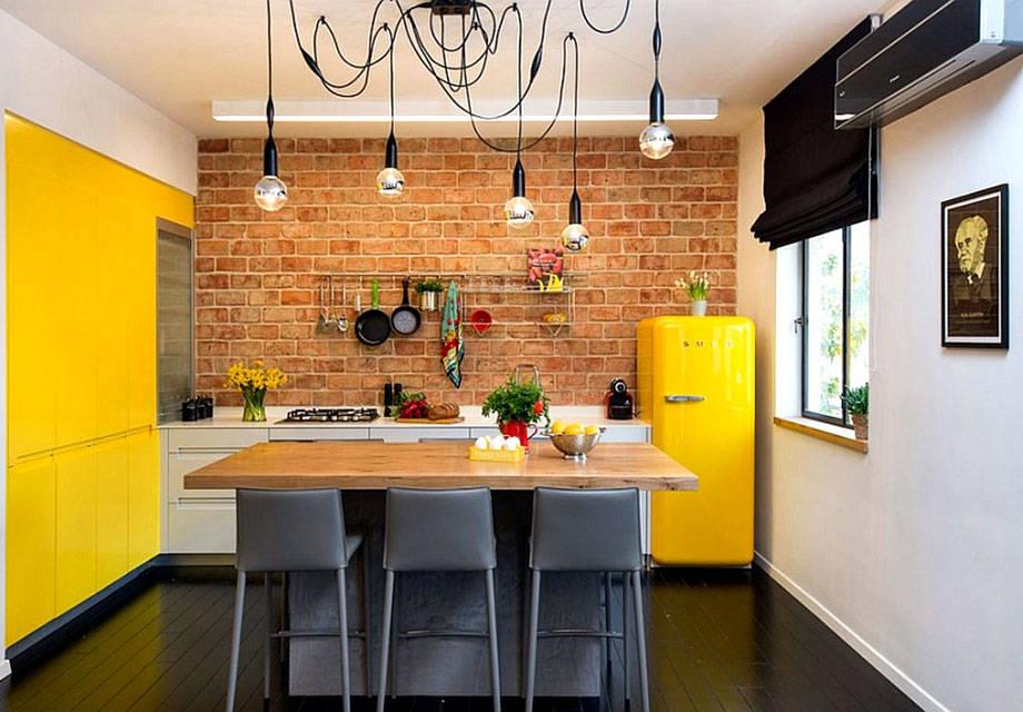 Nebojte se pro oživení vaší kuchyně použít barvy - ilustrační obrázek, zdroj