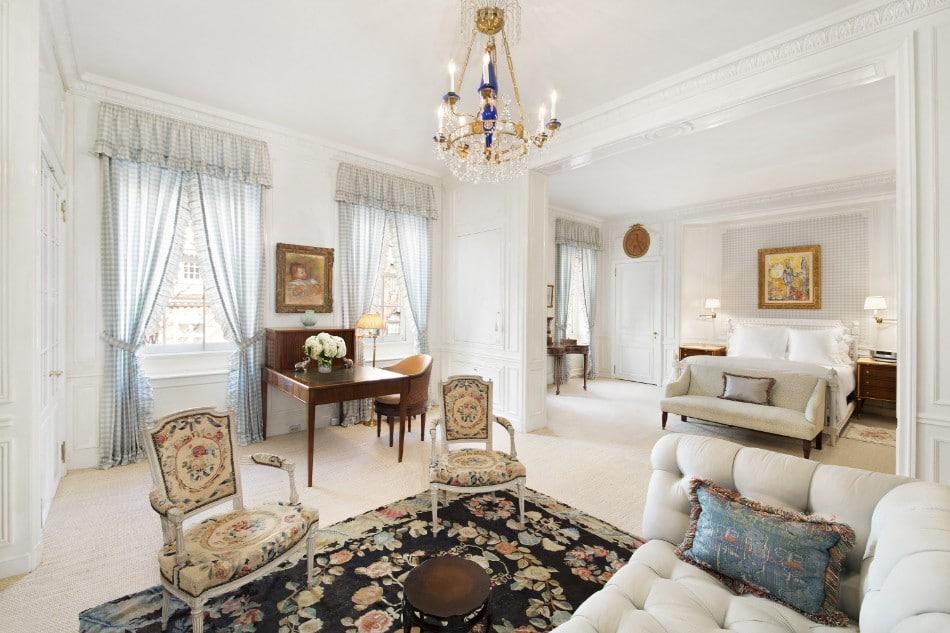 Obývací pokoj v extravagantním stylu - zdroj
