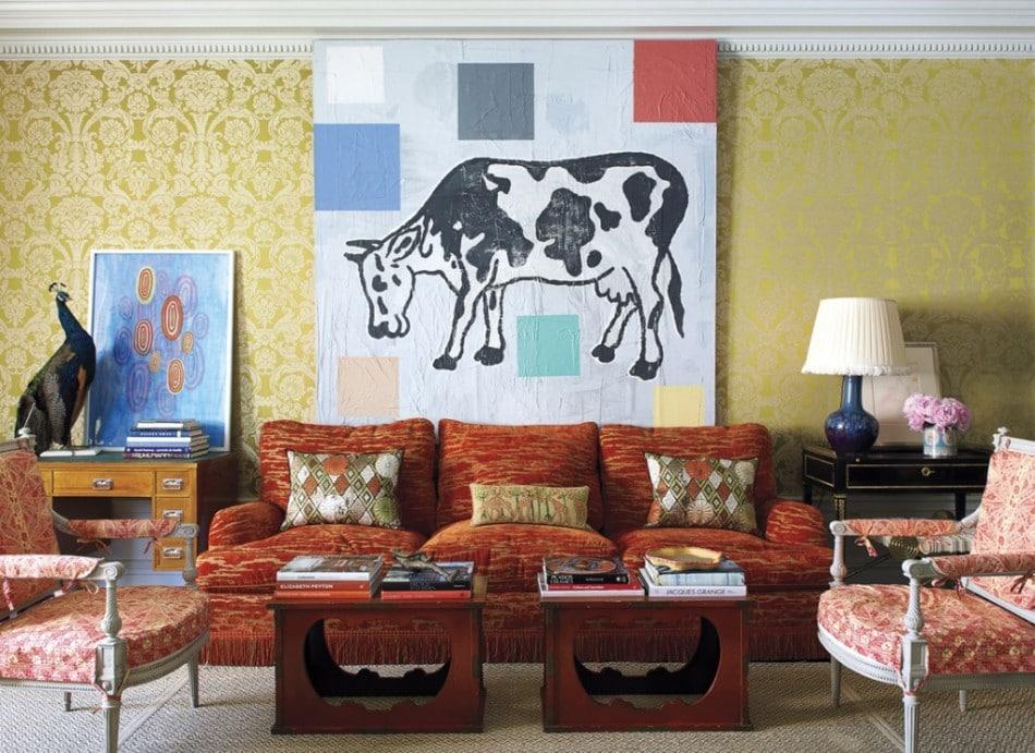 Překvapte návštěvu interierem v extravagantním stylu - zdroj