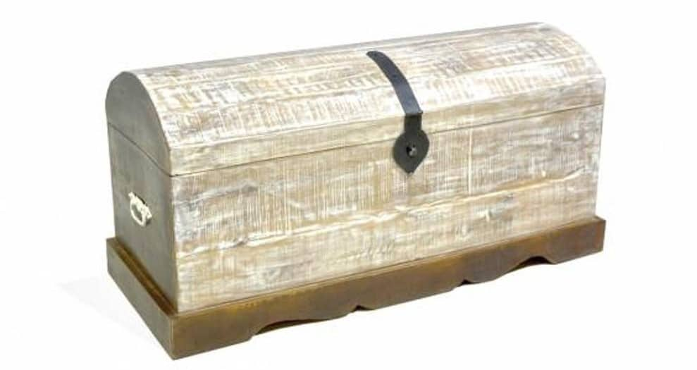 Světal truhla s patinou z mangového dřeva SOB Yerevan