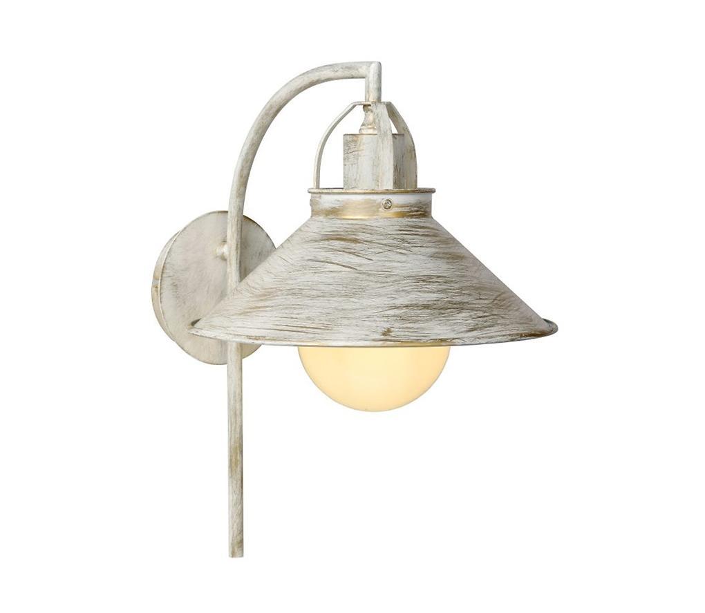 Lucide Lucide 31220/01/21 - Nástěnné svítidlo BERKLEY 1xE27/60W/230V bílá patina LC1743
