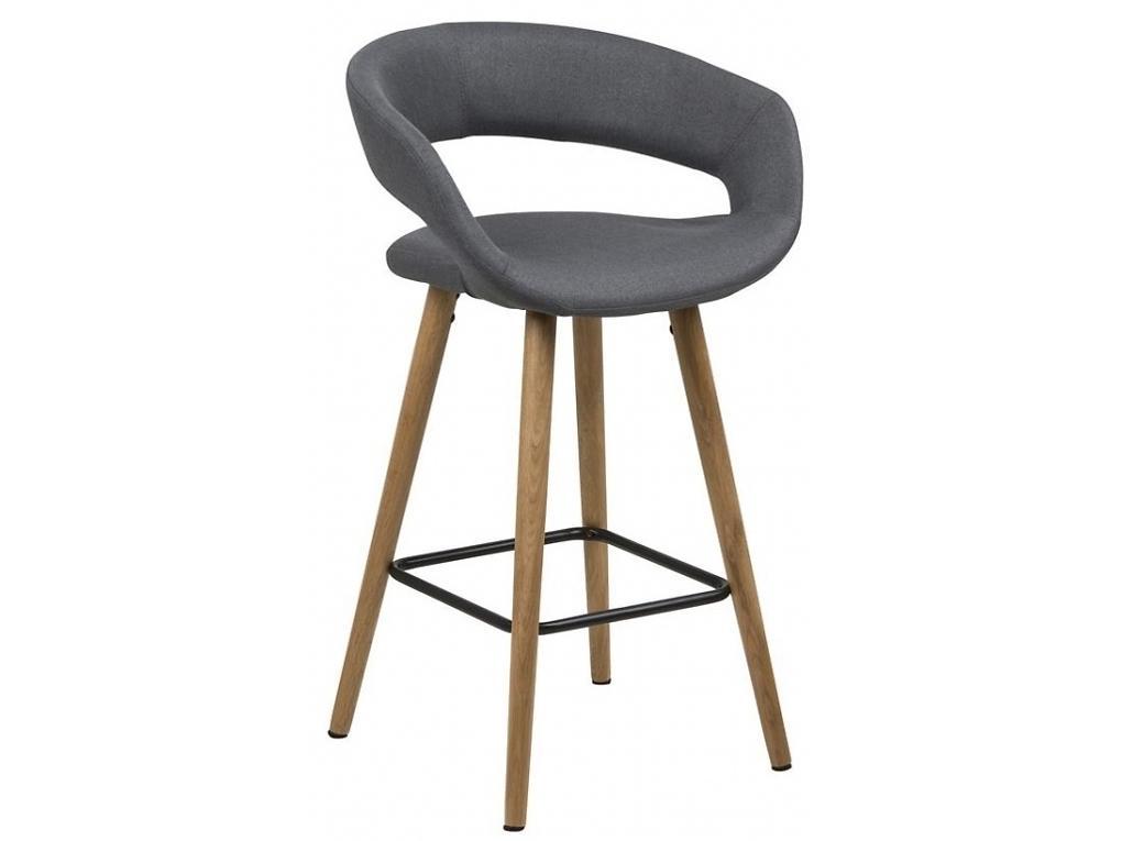 Barová židle Garry, 87 cm, tmavě šedá SCHDN0000066266S SCANDI