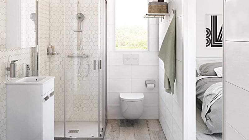 Realizace koupelny s umyvadlovou skříňkou - zdroj