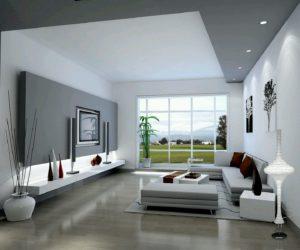 Moderní obývací pokoj - zdroj