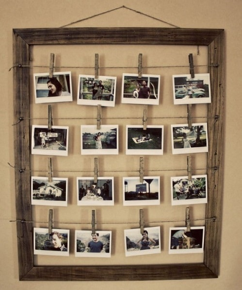 Vytvořte si originální rám s fotografiemi - zdroj
