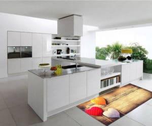 Vysoce odolný kuchyňský běhoun Webtappeti Sweethearts, 60 x 115 cm