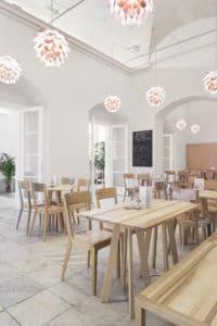 Jedinečný interiér Café Morgal