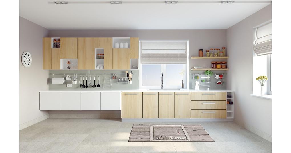 Vysoce odolný kuchyňský běhoun Webtappeti Keylove, 60 x 240 cm