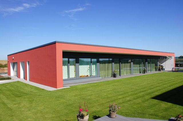 Dům podle individuálního projektu realizovaný stavebním systémem Velox